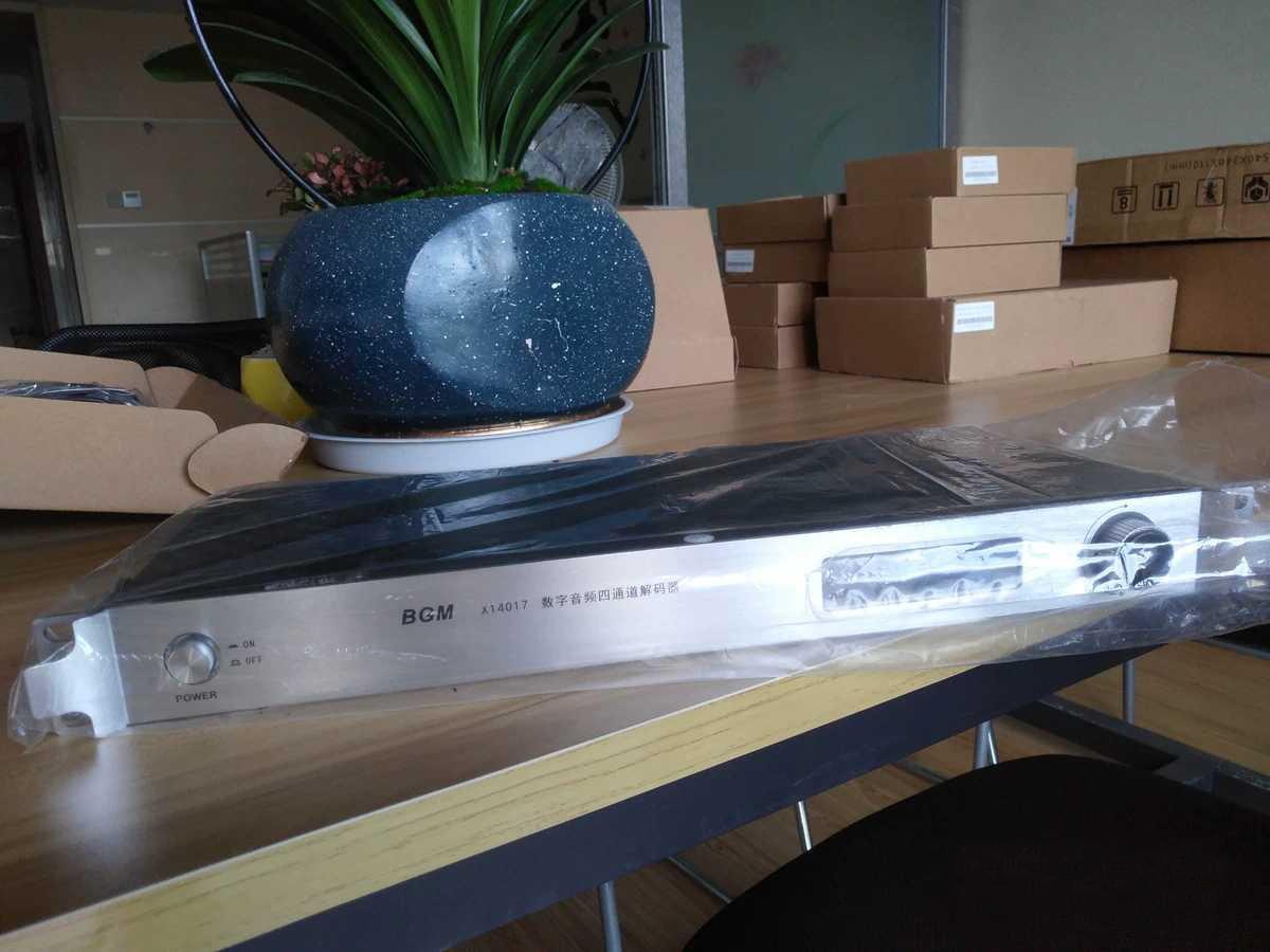 BGM  X14017数字音频四通道解码器
